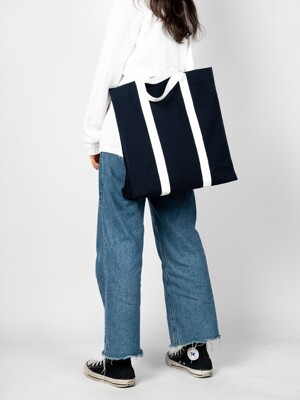 3WAY NAVY CANVAS BAG
