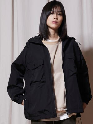 OL147_URBAN Windbreak Jacket_Black