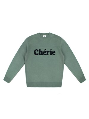 CHERIE WOOL KNIT (OLIVE GREEN)