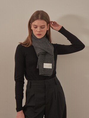 [2SET]WOOL KNIT MUFFLERS