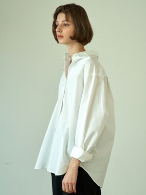 loose fit shirt (white)