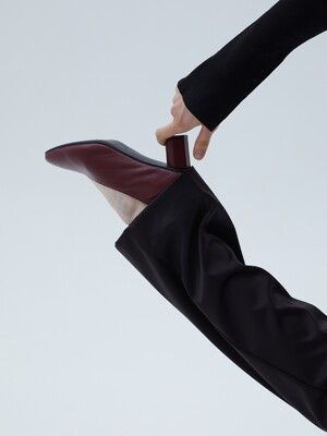 Soft Leather Pumps [LMF201]