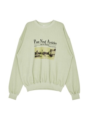 [EXCLUSIVE] Pont Neuf Pullover Mint