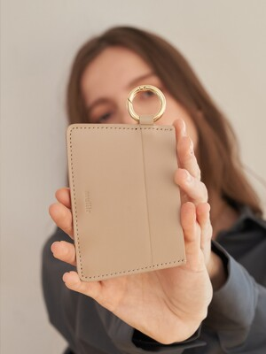 Ceremony card wallet (Sand beige)