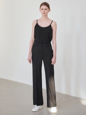21SN semi-wide pants [BK]