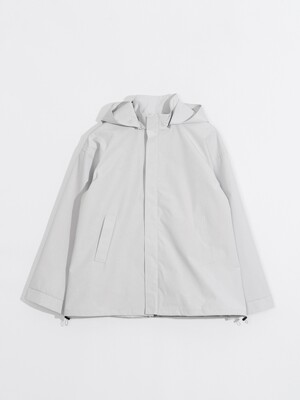 Shell Parka_Light Grey