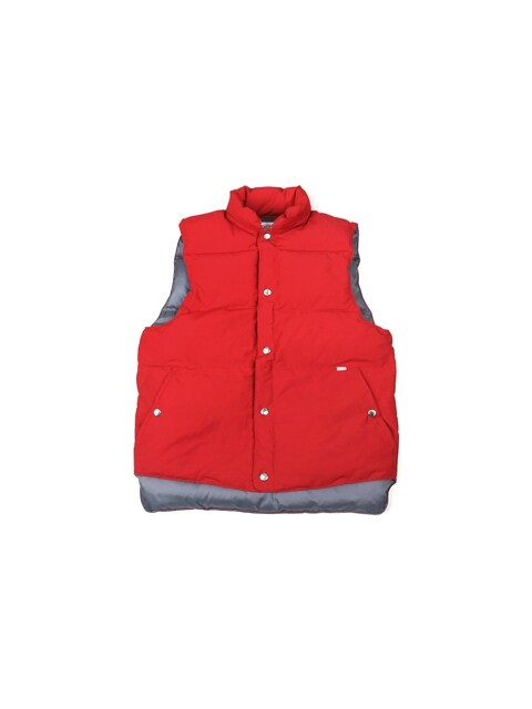 Swellmob Mt. puff down vest -red-
