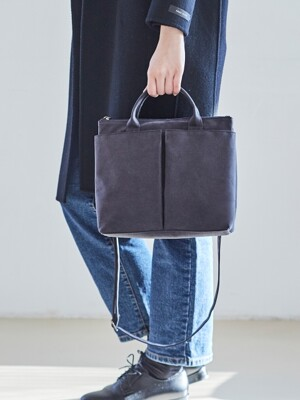 SMALL POCKET BAG _ ASH (Charcoal)