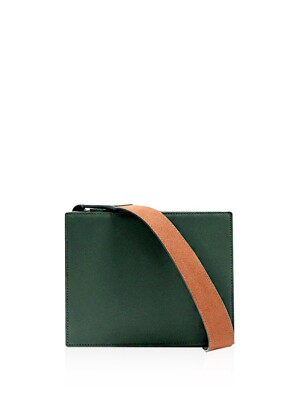 Mone bag m size green