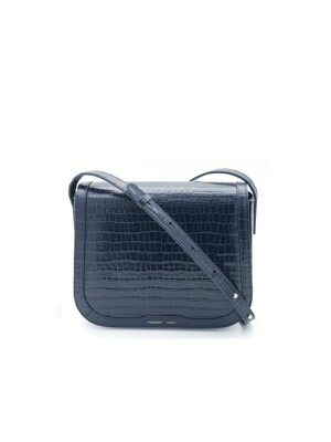 FLAP SADDLE BAG - INK BLUE