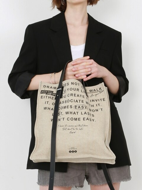 DRAMA(tote/shoulder bag)