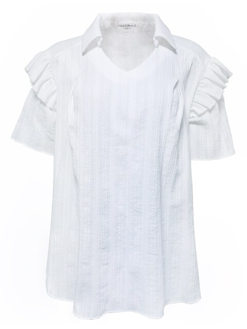HAVEN BLOUSE - WHITE