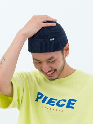 COTTON WATCH CAP (NAVY)