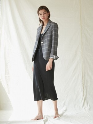 Rosh Check Jacket_Black