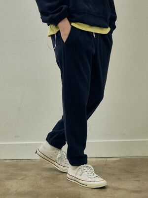 Fleece Jogger Pants_Navy
