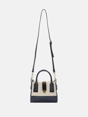 Mini Haze bag Ivory&Black