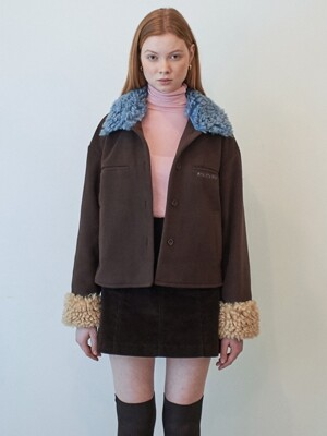 TEDDY FLEECE BLOUSON
