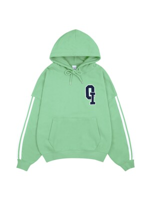 OI LOGO LINING HOODIE_melon