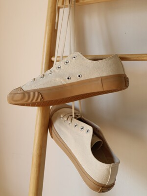 CANVAS SHOES NATURAL