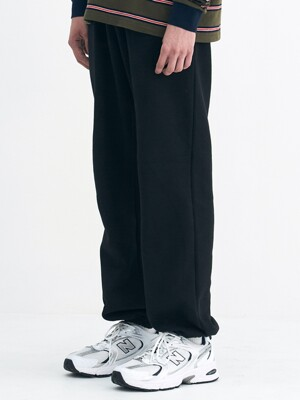 STEADY SWEATPANTS (BLACK)