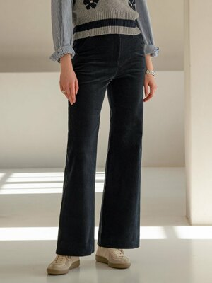 SI PT 7013 80s Corduroy Pants_Dark navy