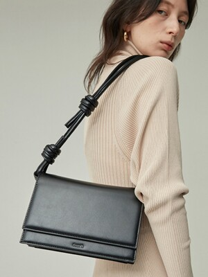 brick rope bag _ black