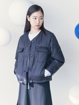 Ultra Light Short Padding Jacket  Black (KE1138M015)