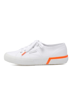 2750-DOUBLEBUMPER COTU WHITE-ORANGE FLUO S00GRC0L32