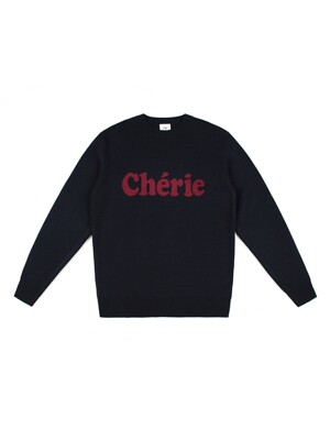 CHERIE WOOL KNIT (BLACK)