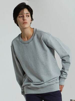 MELODY BASIC SWEATSHIRT_GREY