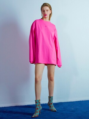 Pocket long sleeve 002 Pink