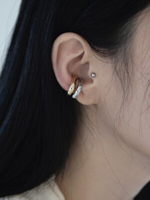 Chain piece large earcuff