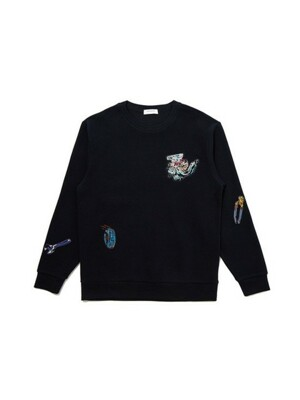engine embroidery sweat shirt_CWTAS20171NYX