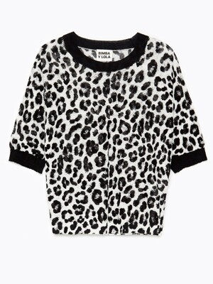 Animal print linen jumper_B215AWK009BE