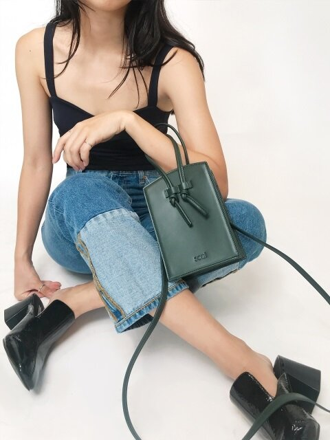 PEGGY BAG_DEEP GREEN