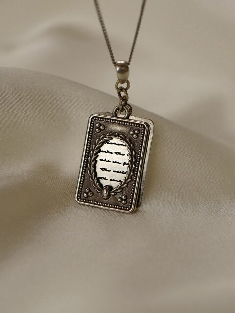 [단독]Poem Necklace