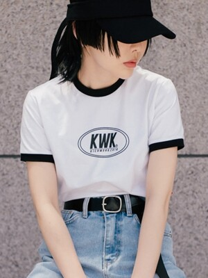18 SS KWK Crop Top_White