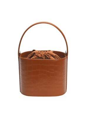 TEDDY BAG BROWN CROCO