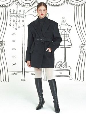 Tailor Made Coat _ Black