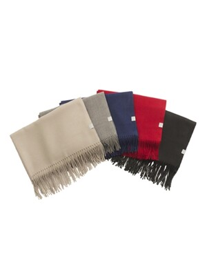 [1+1] CASHMERE MUFFLER [5 COLORS]