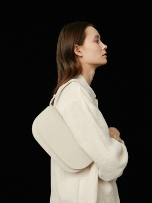 Elba Broad bag - Pale Stone