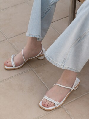 SIMPLE ROPE SANDAL D20S10WT