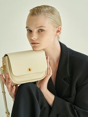 Roto bag (Ivory) + shoulder strap set