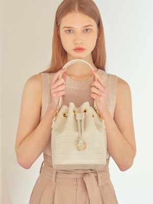 jane bag - oatmeal embo