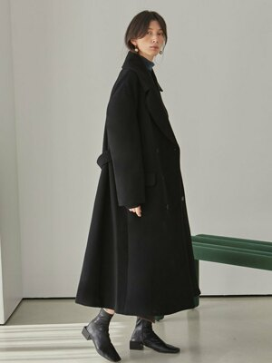 Piper Long Coat_Black