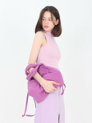 Cotton string bag ver.2 [Pink]