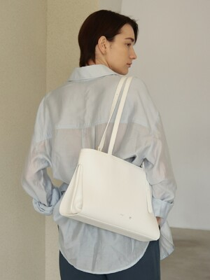 MID LINK BAG_WHITE
