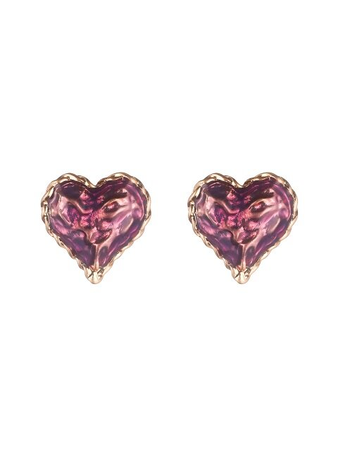 pitapat heart earrings