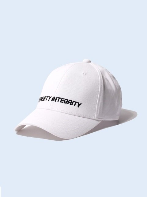 HONESTY INTEGRITY BALL CAP - WHITE