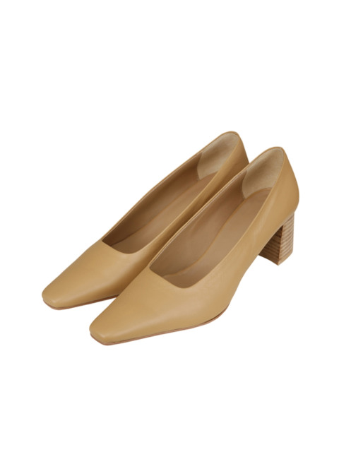 POINTED TOE PUMPS (BEIGE)